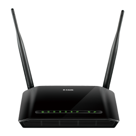 D-LINK DSL-2740U Wireless N300 ADSL2+ Wi-Fi Router