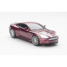 Click Car CCM660509 Aston Martin DBS Car Wireless Optical Mouse - Magnum Red