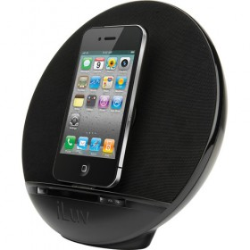 iLuv IMM289BLK Stereo Speaker Dock for iPhone and iPod
