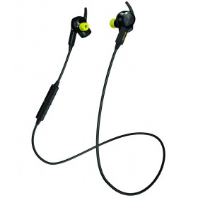Jabra Sport Pulse Stereo Bluetooth Wireless sports earbuds with in-ear heart rate monitor optimized for running - Black