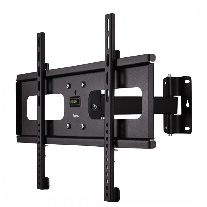 hama 00108779 fullmotion tv wall bracket 1star from 81 cm to 127 cm 32 inch to 50 inch black. Black Bedroom Furniture Sets. Home Design Ideas