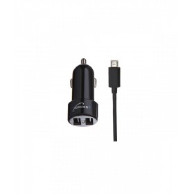 PASSION4 PASS1003 CAR CHARGER 2USB+MICRO USB CABLE
