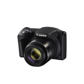 Canon PowerShot SX420 IS with Long Zoom Cameras 42x Optical Zoom, EU23 + SD 8GB, Black