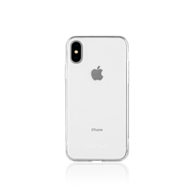 Odoyo PH3601JC Soft Edge Case for iPhone X, Jelly Clear, PA3601JC