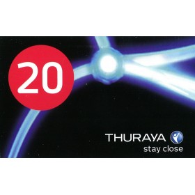Thuraya Scratch Card 20 Unit