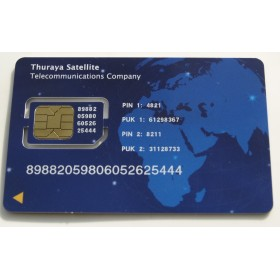Thuraya Scratch Card 10 Unit