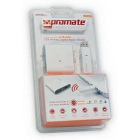 PROMATE NOTEBOOK WIRELESS DIGITAL AUDIO ADAPTER-WIAUDIO