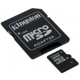 Kingston MICRO SD 32GB (SDHC) CLASS 10 PROF SDC10/32GB