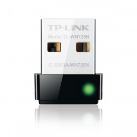 تى بى لينك أدابتر إنترنت يو إس بى لاسلكى(TP-LINK 150MBPS WIRELESS N NANO USB ADAPTER TL-WN725N)