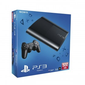بلاى ستيشن 3  سونى ( SONY PS3- 500GB+GOD OF WAR CECH-4004C )