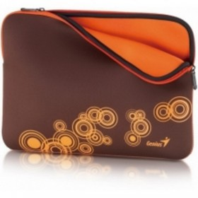 GENIUS MOUSE MICRO RUBY + SLEEVE BAG GS-1401 BROWN/ORANGE 31280049103