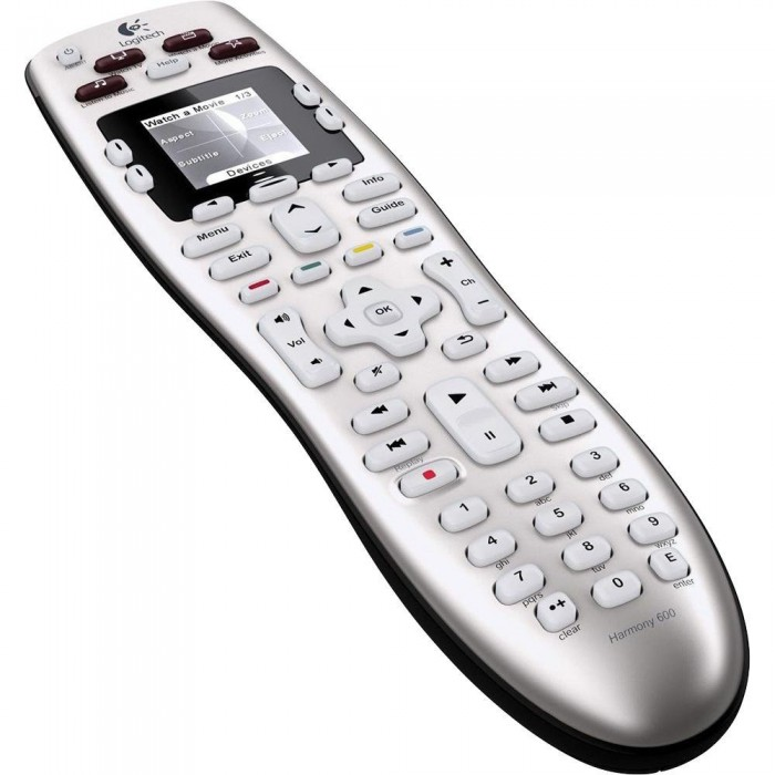 buy from radioshack online in egypt logitech harmony 600 universal remote control for only 313. Black Bedroom Furniture Sets. Home Design Ideas