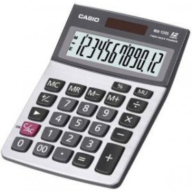 CASIO PRACTICAL CALCULATOR MX-120S