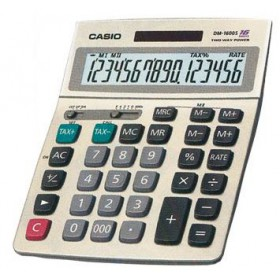 CASIO PRACTICAL CALCULATOR DM-1600-S