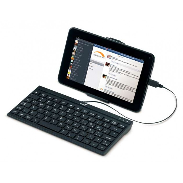 buy from radioshack online in egypt genius wired keyboard and stand for android tablet pc a110. Black Bedroom Furniture Sets. Home Design Ideas