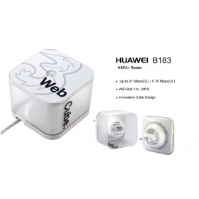 HUAWEI 3G WIFI ROUTR B183 WEBCUBE BROADBAND 32USER