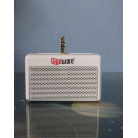 Gigaware MP3 Mini Speaker White