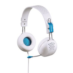 Hama Perplex-PC Headset With Mic & Volume control white