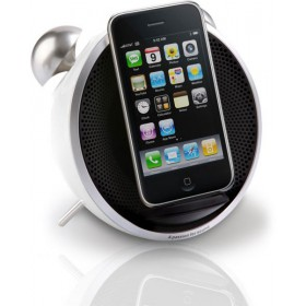 Edifier - IF230W Alarm Dock Tick Tock Dock for iPod/iPhone - White