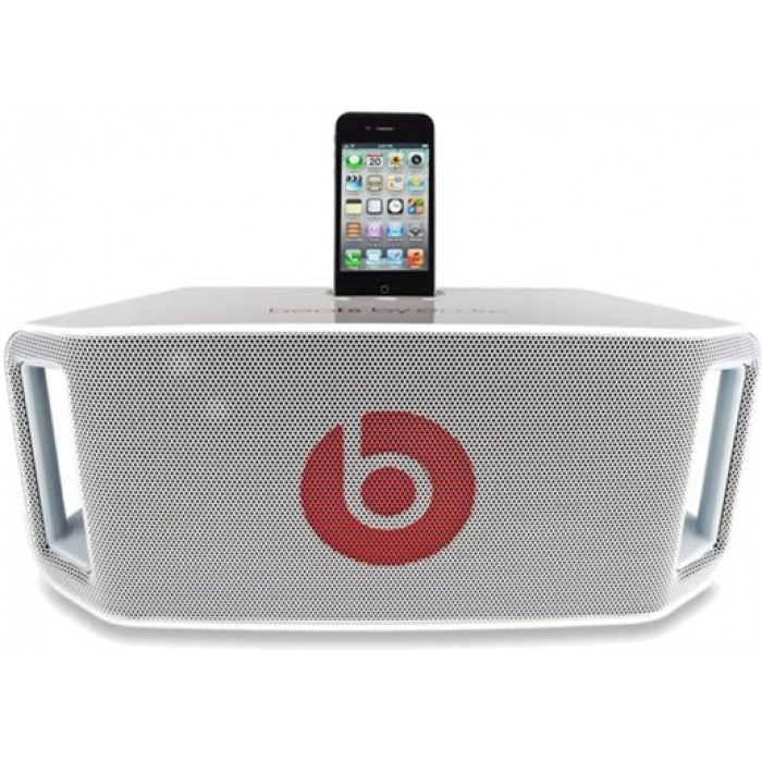 Beats By Dr Dre Beatbox Portable White Speaker Iphone