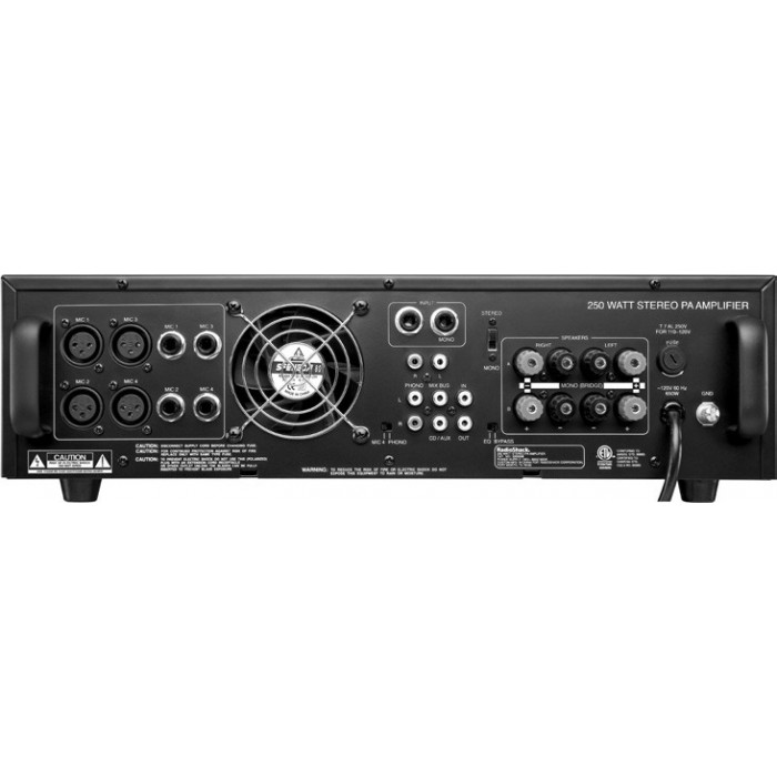 buy from radioshack in radioshack 174 250w stereo pa amplifier for only 1 875 egp the