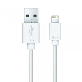 iLuv ICB263WHT Charge/Sync Apple Lightning Connector Cable